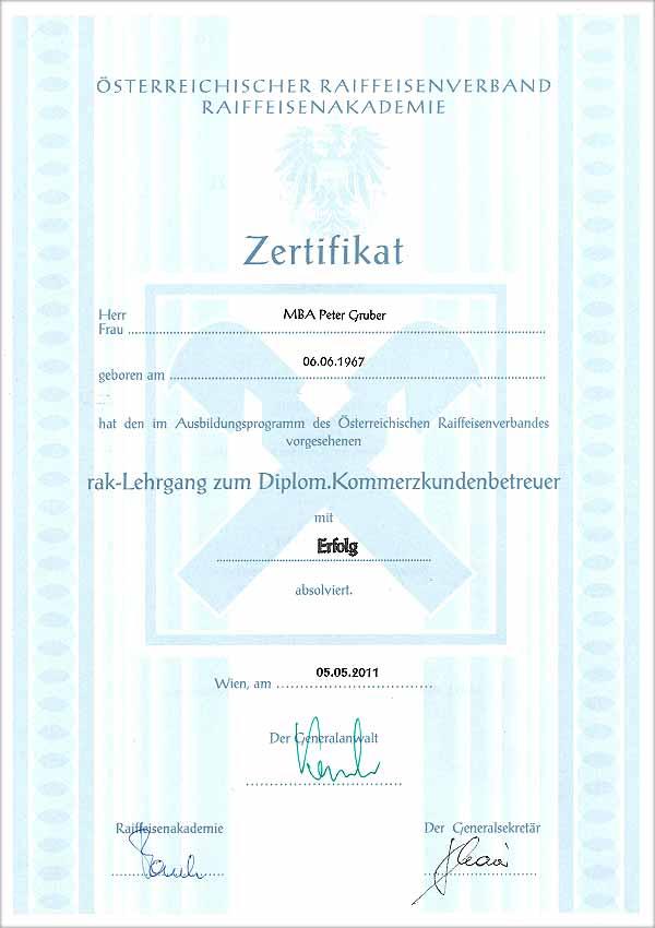 Diplom.Kommerzkundenbetreuer